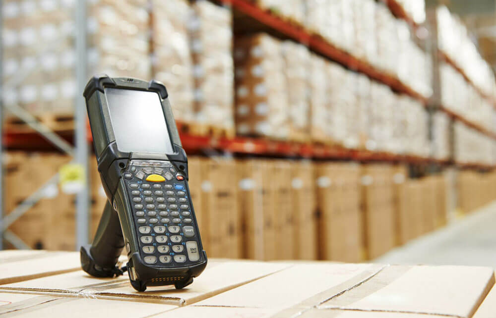 Mobile Computer & Barcode Scanner Reapair - Barcode Scanner in Warehouse
